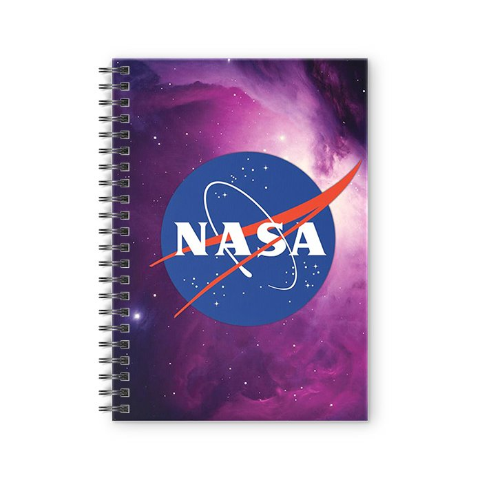 NASA Logo - NASA Official Spiral Notebook