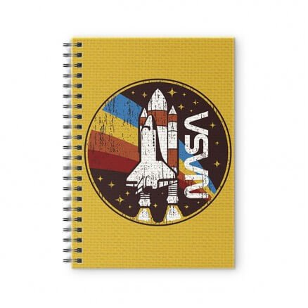 Take Off - NASA Official Spiral Notebook