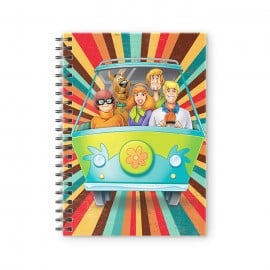 The Mystery Machine - Scooby Doo Official Spiral Notebook