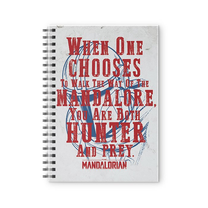 Hunter And Prey - Star Wars Official Spiral Notebook