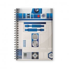 Attire R2D2 - Star Wars Official Spiral Notebook