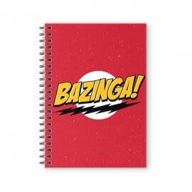 Bazinga! - The Big Bang Theory Official Spiral Notebook