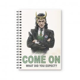 Loki: Come On - Marvel Official Spiral Notebook