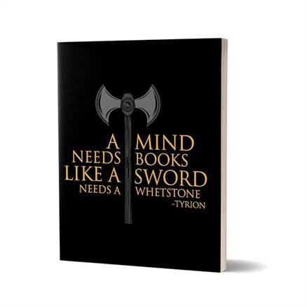 A Mind Needs Books - Game Of Thrones Official Notebook