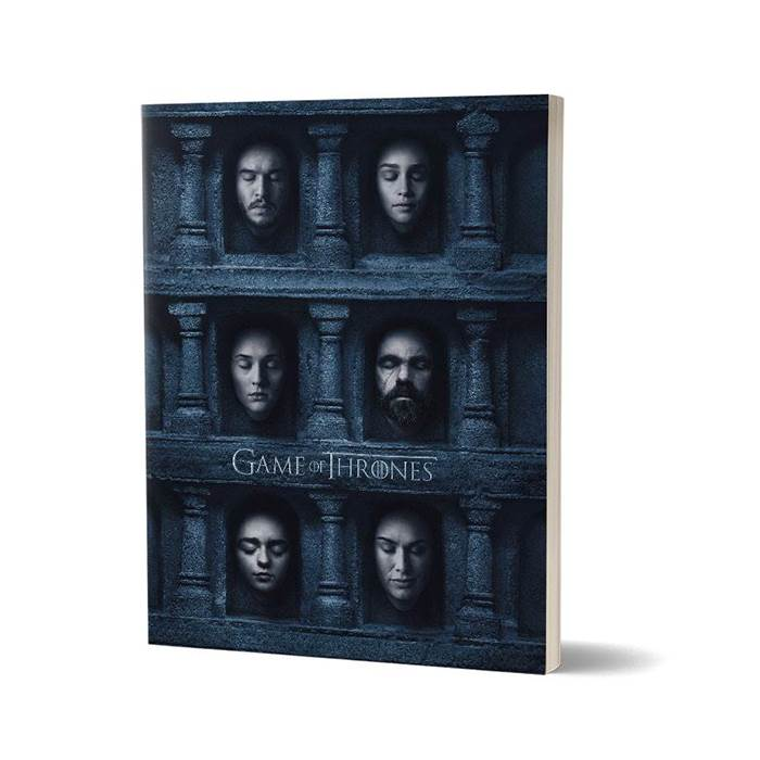 Hall Of Faces - Game Of Thrones Official Notebook