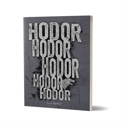 Hodor - Game Of Thrones Official Notebook