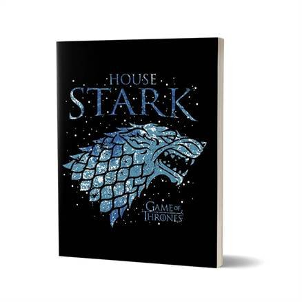 House Stark Ice - Game Of Thrones Official Notebook