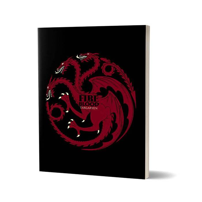 Fire And Blood - Game Of Thrones Official Notebook