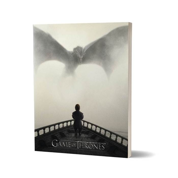 I Dream Of Dragons - Game Of Thrones Official Notebook