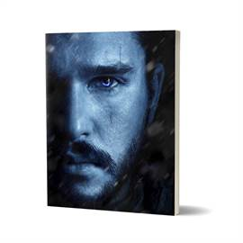 Jon Snow: Winter Is Here - Game Of Thrones Official Notebook
