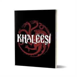 Khaleesi - Game Of Thrones Official Notebook