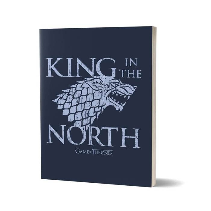 King In The North - Game Of Thrones Official Notebook