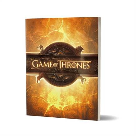 Opening Sequence - Game Of Thrones Official Notebook