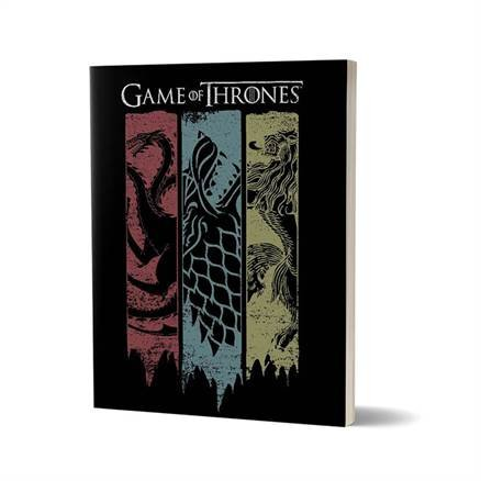 Sigil Banner - Game Of Thrones Official Notebook