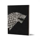 House Stark Sigil Design - Game Of Thrones Official Notebook
