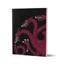 House Targaryen Sigil Design - Game Of Thrones Official Notebook