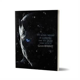 The Long Night - Game Of Thrones Official Notebook
