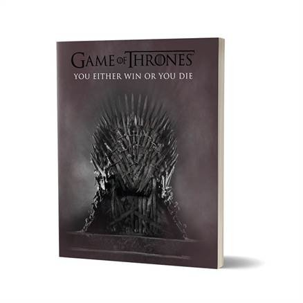 The Throne - Game Of Thrones Official Notebook