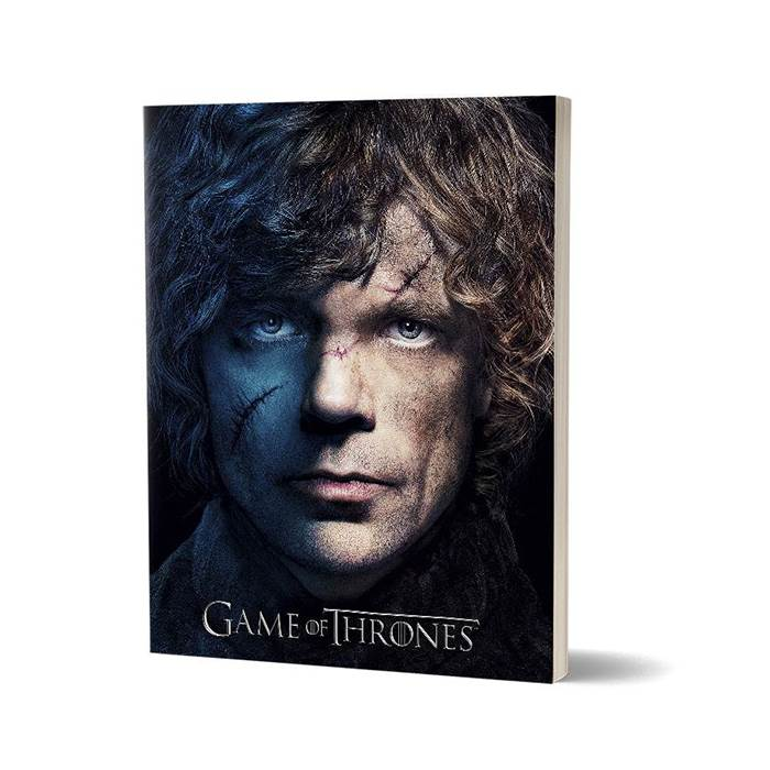 Tyrion Lannister - Game Of Thrones Official Notebook