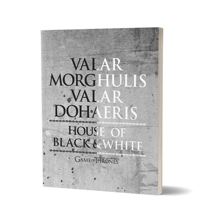 Valar Morghulis - Game Of Thrones Official Notebook