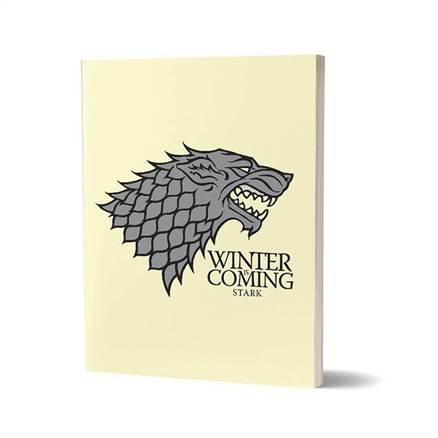 Winter Is Coming - Game Of Thrones Official Notebook