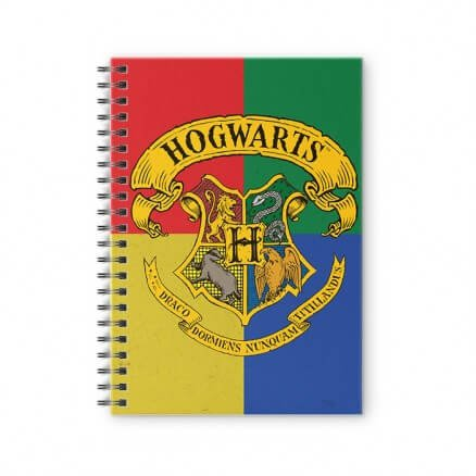 Hogwarts Crest - Harry Potter Official Spiral Notebook