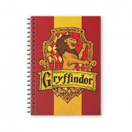 House Gryffindor: Crest - Harry Potter Official Spiral Notebook