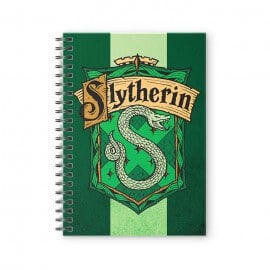 House Slytherin: Crest - Harry Potter Official Spiral Notebook