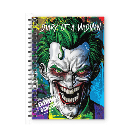 Diary Of A Madman - Joker Official Spiral Notebook