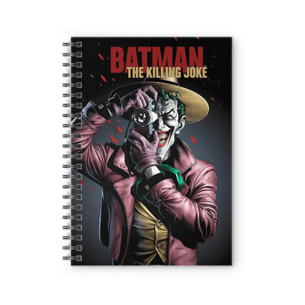 The Killing Joke - Joker Official Spiral Notebook