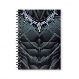 Black Panther Suit - Marvel Official Spiral Notebook
