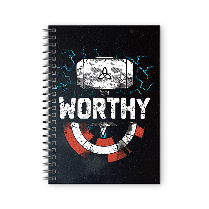 Worthy - Marvel Official Spiral Notebook