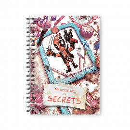 Book Of Secrets - Deadpool Official Spiral Notebook