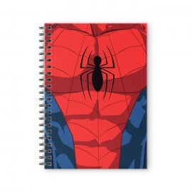 Spider-Man Suit - Marvel Official Spiral Notebook