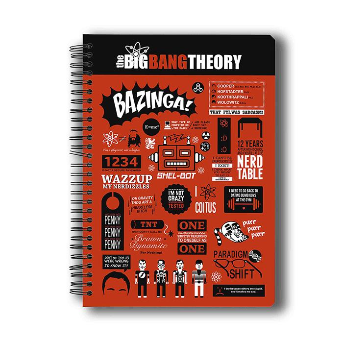 The Big Bang Theory: Infographic - Notebook