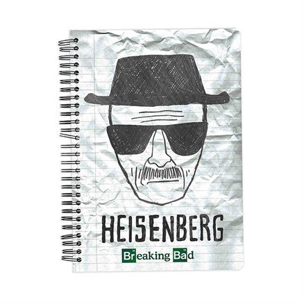 Crushed - Breaking Bad Official Notebook