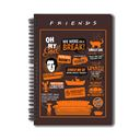 Friends: Orange - Notebook