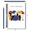 Friends: Umbrella - Notebook