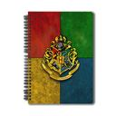 Harry Potter: Hogwarts House Crest 3 - Notebook