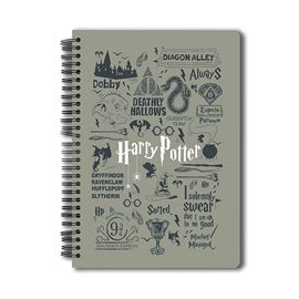 Harry Potter: Infographic - Grey Notebook