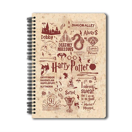 Harry Potter: Infographic - Red Notebook