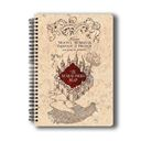 Harry Potter : The Marauder's Map - Notebook