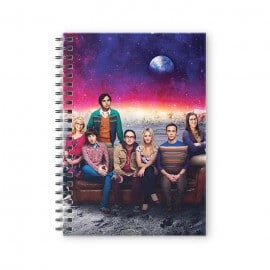 Moonlanding - The Big Bang Theory Official Spiral Notebook