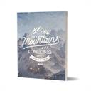 Mountains Are Calling - Notebook
