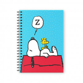 Nap Champion - Peanuts Official Spiral Notebook