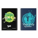 Peace Among Worlds - Rick And Morty Official Spiral Notebook