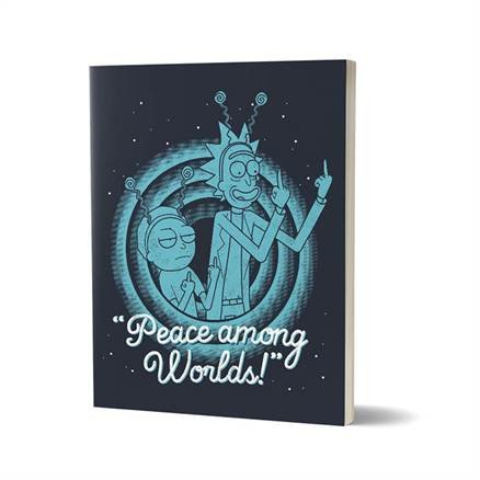 Peace Among Worlds - Rick And Morty Official Notebook