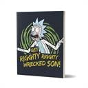 Get Wrecked - Rick And Morty Official Notebook