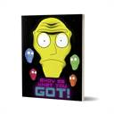 Show Me What You Got - Rick And Morty Official Notebook