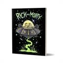 Space Cruiser - Rick And Morty Official Notebook